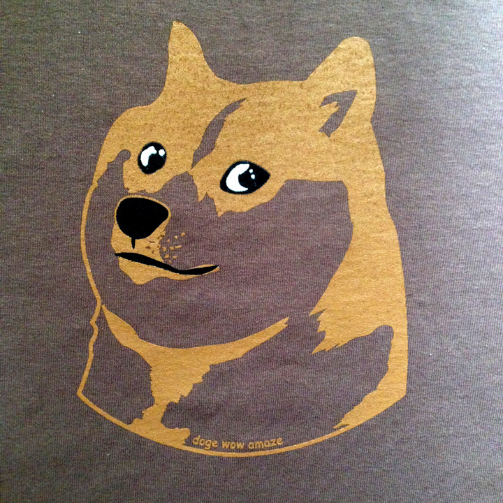 Doge collage shirt